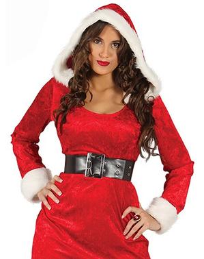 Sexet julemandens kone kostume til kvinder