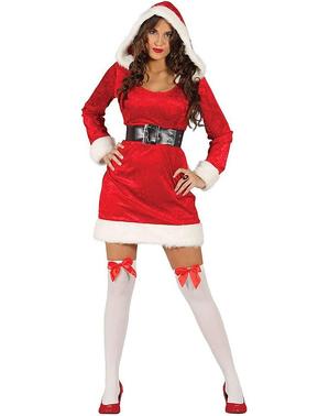 レディースセクシーマザークリスマスコスチューム