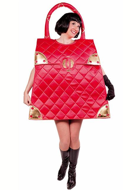 Στολή Κόκκινη Τσάντα για Ενήλικες