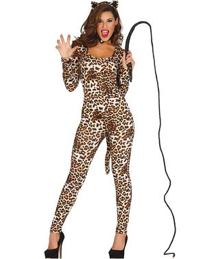 Tigerin Kostüm für Damen Orient