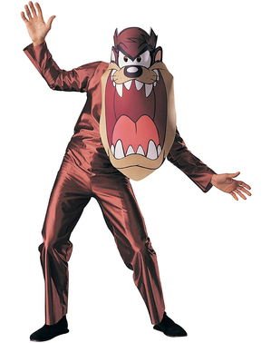 Mens Taz Looney Tunes costume