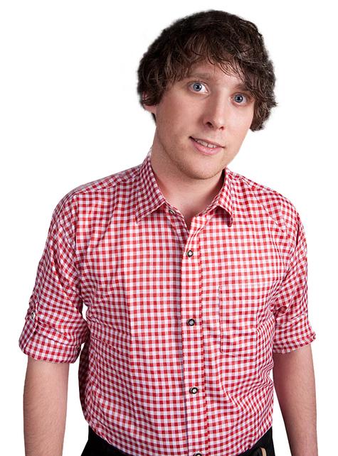 Camisa aos quadrados vermelha e branca para adulto