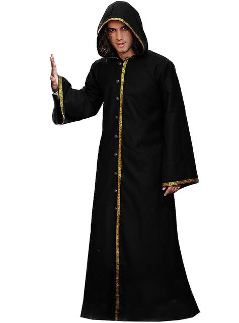 Disfraz de hechicero oscuro para hombre
