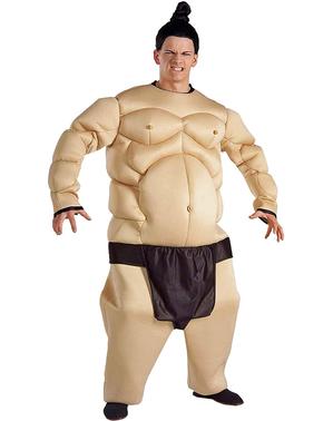 Fato de lutador de sumo musculoso