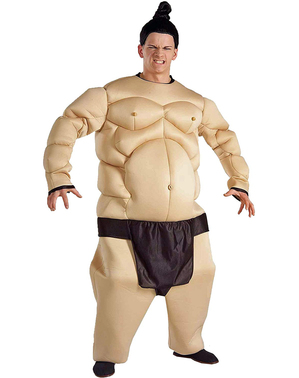 Muscular Sumo Wrestler Costume