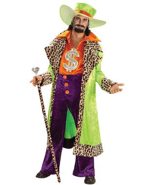 Disfraz de papi chulo años 70 talla grande