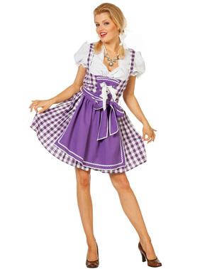 Dirndl de Oktoberfest para mulher