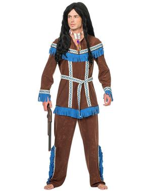 Indianer Jäger Kostüm für Herren