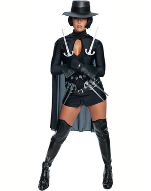 V for Vendetta kostuum voor vrouw