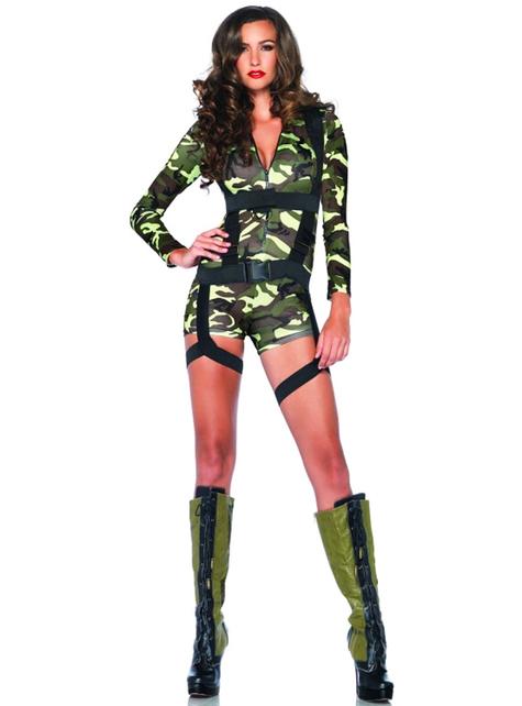 Disfraz de comando para mujer