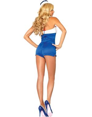 Matrosin Kostüm für Damen Deluxe