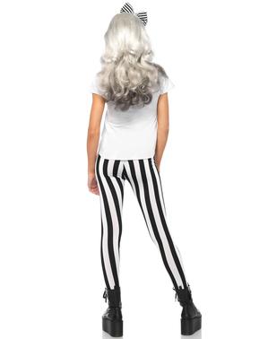 Fato de Skeleton Hipster para mulher