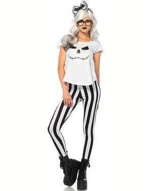Skeleton Hipster kostume til kvinder