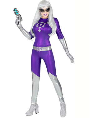 Frau aus der Zukunft Kostüm