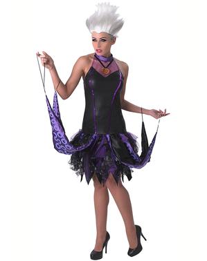 Ursula kostyme til dame - Den Lille Havfrue
