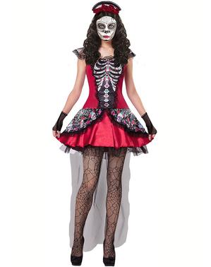 Costume da Catrina Messicana Il Giorno dei Morti