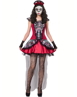 Day of the Dead Catrina Kostume