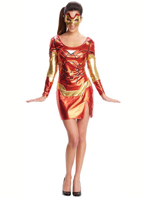 Disfraz de Iron Man para mujer
