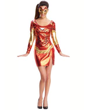 Redning kostyme til dame - Iron Man