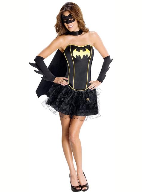 Batgirl Secret Wishes Corset Adult Costume