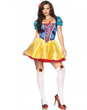 Женски костюм за Снежанка