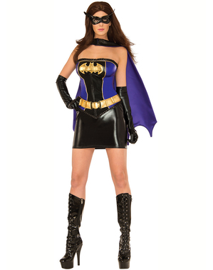 Disfraz de Batgirl sexy para mujer
