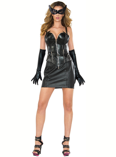 Fato de Catwoman sexy para mulher