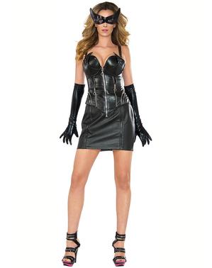 Sexy Catwoman Kostüm für Damen