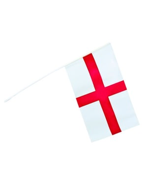 Handheld England Flag