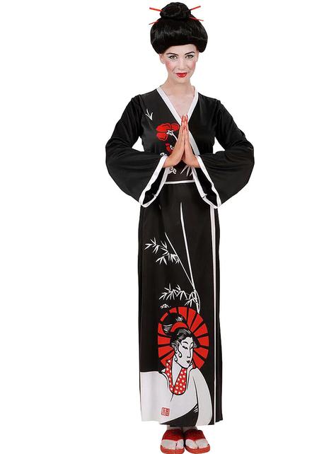 Disfraz de geisha para mujer
