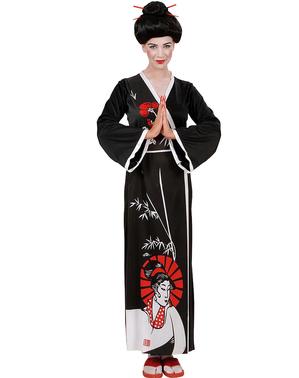 Geisha Maskeraddräkt för henne