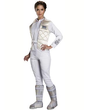 Klassisk Prinsesse Leia kostyme til dame - Star Wars