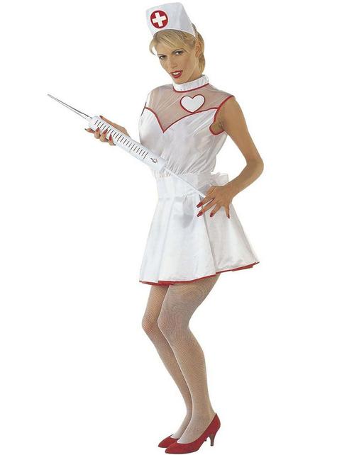 Fato de enfermeira do amor para mulher