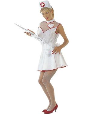 Costume da infermiera dell'amore per donna