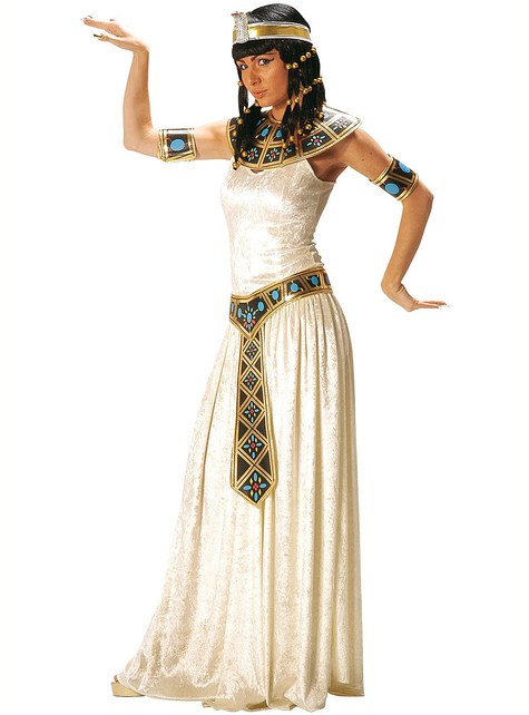 Fato de imperatriz egípcia para mulher