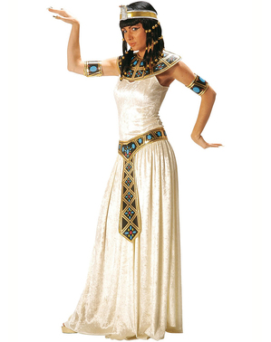 תחפושת קיסרית מצרית עבור אישה