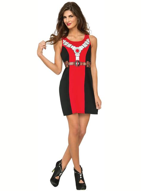 Deadpool kostuum voor vrouw