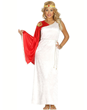 Elegant romersk kvinde kostume