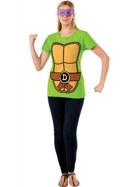 Zestaw Żółwie Ninja Donatello damski