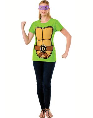 Kit de Tortuga Ninja Donatello para mujer