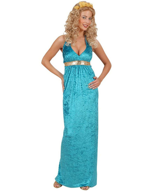 Koningin van Atlantis kostuum voor vrouw
