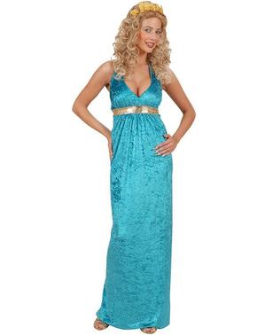 Costum de regină Atlantis pentru femeie mărime mare