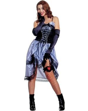 Dame aus dem fernen Westen Kostüm für Damen