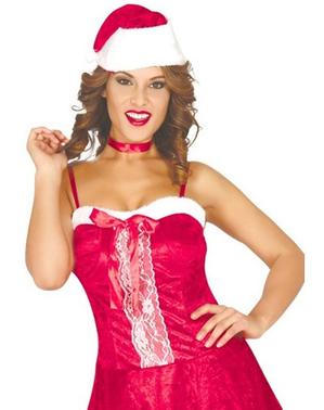 Kostum Nyonya Claus seksi untuk wanita