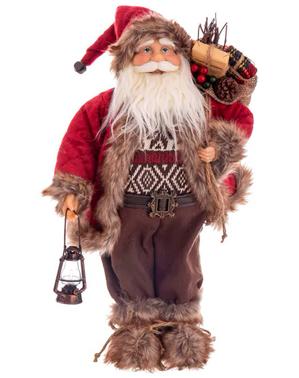 Figura de Papá Noel (45 cm)