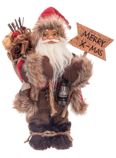 Figura de Papá Noel (30 cm)
