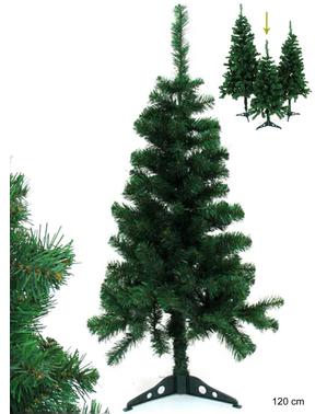 Árbol de navidad de 120 cm