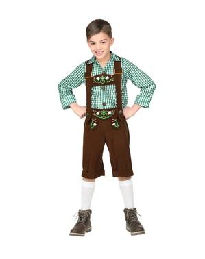 Costume da bavarese Oktoberfest per bambino