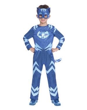 Catboy und Gecko Wende-Kostüm für Kinder PJ Masks Pyjamahelden