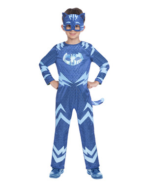 Fato reversível de Catboy e Gekko para menino - PJ Masks